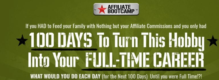 30 day affiliate bootcamp training