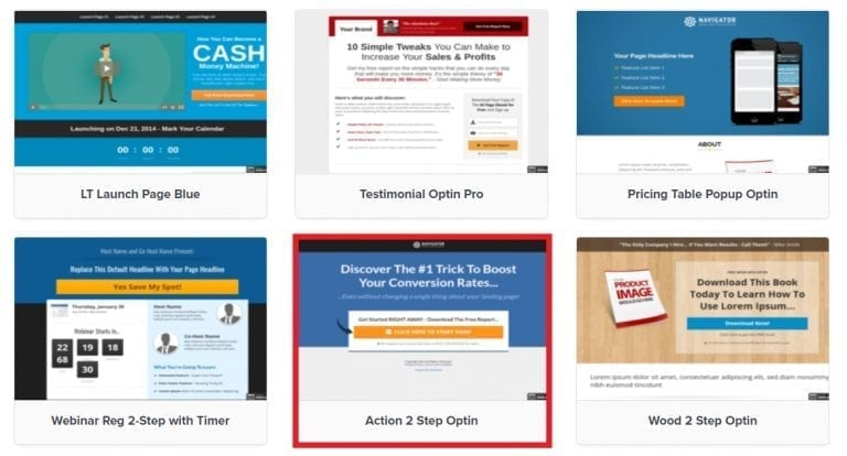 sales funnel templates in click funnels